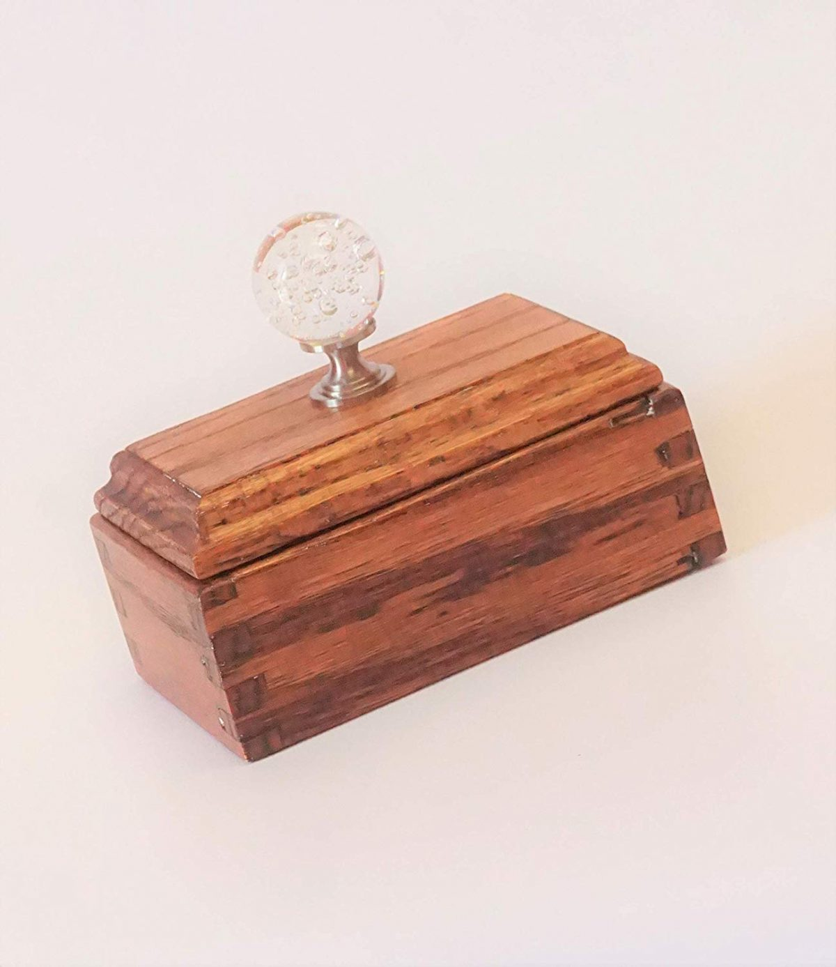 JDS Cherry Finish Keepsake Box