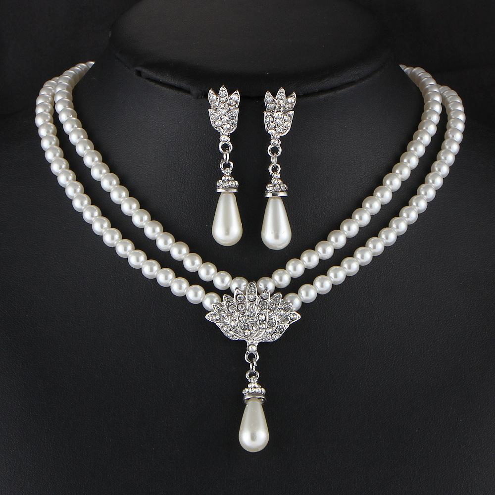 Beverly Clark's Razzle Dazzle Necklace & Earring Set